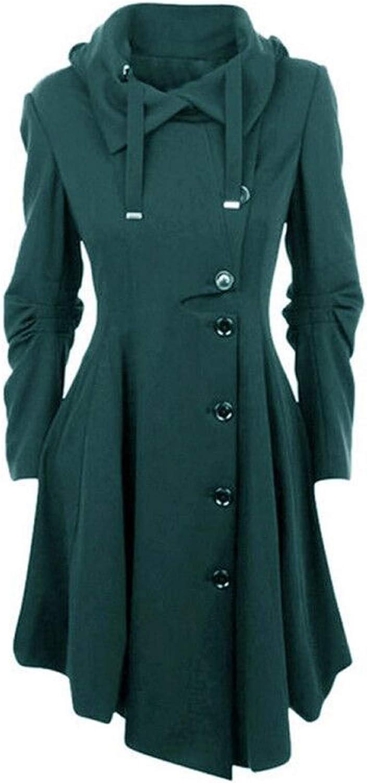 colorfulspace New Spring Autumn Coat Jacket Women Fashion Long Sleeve Asymmetric Length Coat Women Outwear Plus Size