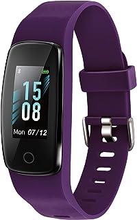 ETEKCITY Pulsera de Actividad Inteligente (Azul/Violeta/Negro)