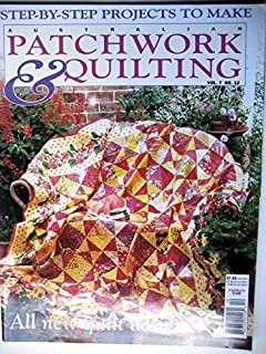 Australian Patchwork & Quilting 2000 Vol 7 No 12, Summer Fruit, Antique Pickle Dish, Sashiko, 40 Blocks, Irises, Oak Leaf Cushion