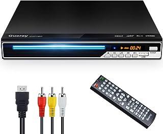 Gueray DVDプレーヤー DVD/CD再生専用モデル HDMI/AV出力搭載 最大1080Pの解像度 CPRM対応 USB2.0/Mic対応 防振機能付き USBコピー機能付き リージョンフリー 地上デジタル放送可能 映像出力 音声出力 ...