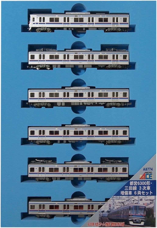 6-Wagen-Set 3 Weiter Bahn Spur N A8774 Toei Mita-Linie-Form 6300 (Japan-Import) B00BG1NRY8 Nutzen Sie Materialien voll aus  | Louis, ausführlich