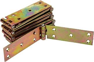 KOTARBAU Kistenband 150 x 25 mm 10. Stk gerolde tafelband meubelscharnieren meubelband verzinkt deurband kistenband kastsc...