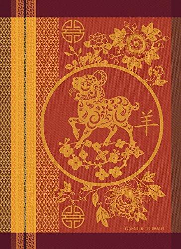 Garnier-Thiebaut 25519 LIGNE Drap de Bain Viscose de Bambou/Coton Perle 150 x 100 cm