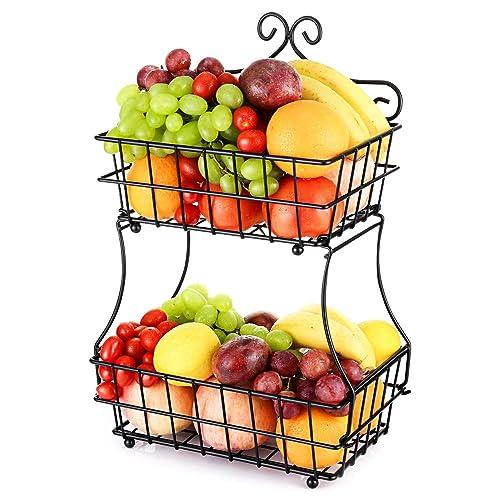 Metal Tier Fruit Stand: Amazon.com