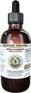 Wild Carrot Alcohol-FREE Liquid Extract, Wild Carrot (Daucus Carota) Dried Seed Glycerite Natural Herbal Supplement, Hawaii Pharm, USA 4 fl.oz