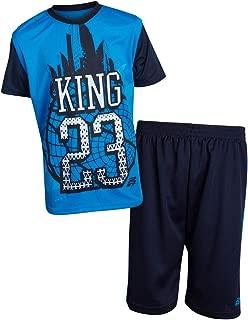Pro Athlete Boys 2-Piece Performance Basketball Shirt and Short Set