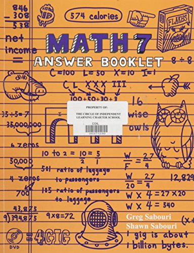 Teaching Textbooks Math 7 Answer Key