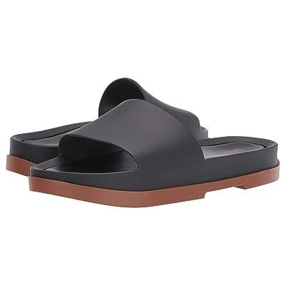 Melissa Shoes Beach Slide Platform (Brown/Black) Women