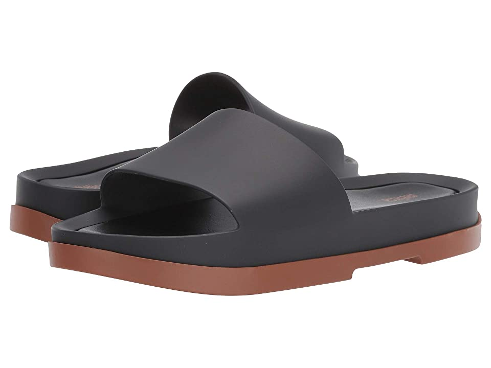 Melissa Shoes Beach Slide Platform (Brown/Black) Women