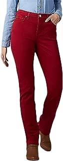 LEE Womens Stretch Tummy Slimming Straight Leg Jeans