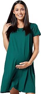 HAPPY MAMA Donna Camicia per Parto Prenatal pr/émaman Allattamento Ospedale1028