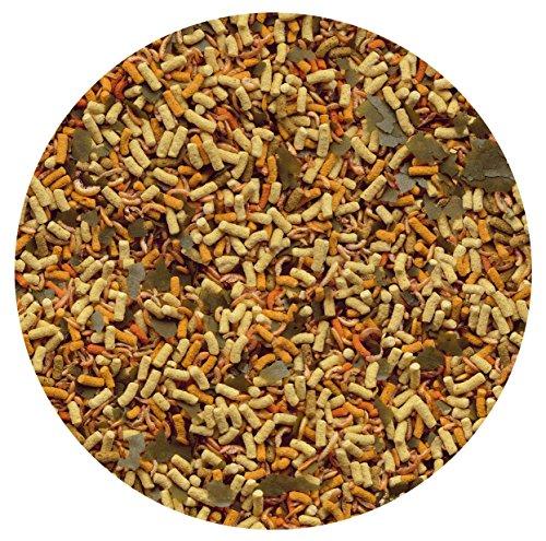 Tetra Pond Goldfish Mix Premium Hauptfutter (Futtermix aus besten Flocken), 1 Liter Dose - 5