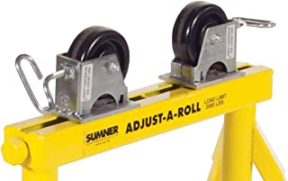 Sumner Manufacturing 783152 Roller Stand Quick Change Housing with Rubber Wheels, Sold per Pair