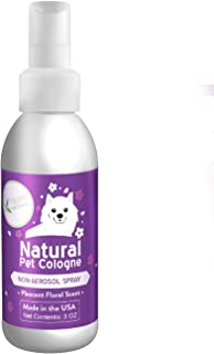 Hygea Natural Pet Cologne and Perfume | Fresh Floral Scent | Made in The USA - 3oz Bottle