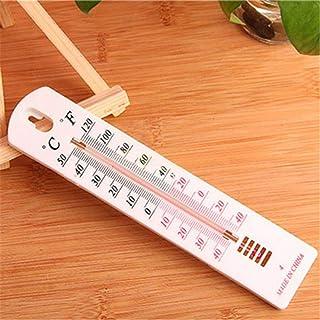 AMOYER Suspendu Thermomètre Extérieur Jardin Maison Garage Bureau Maison Intérieur Sec Humide Thermomètre pour La Maison, ...