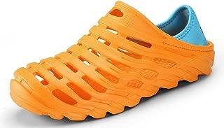 clapzovr Men Garden Clogs Beach Water Sandal Lightweight Shoes Slippers