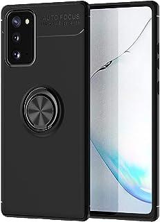 حافظة FanTing لهاتف Samsung Galaxy Note20 5G ، قوس دائري قابل للتعديل 360 درجة ، متوافق مع حامل سيارة مغناطيسي ، غطاء مقاو...