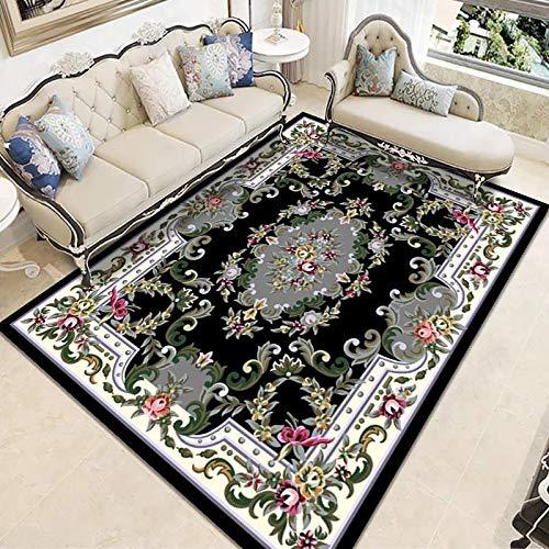 ZAZN Anti-Slip And Wear-Resistant Large Carpet Living Room Coffee Table Sofa Cushion European Style Bedroom Bedside Blanket Printed Carpet Floor Mat