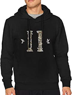 VicRomanko Men Migos Culture II Long Sleeve Young Comfortable Drawstring Music Hoodies Black