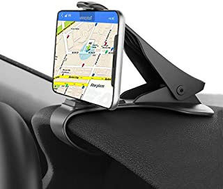 Car Phone Mount, ChiChiFit HUD Smart Phone Holder for Car Dashboard Clip Non-Slip Durable Compatible with Phone Xs Max/XR/XS/X/8 Plus/8/7 Plus/7 Samsung Galaxy S10/S9/S8 and More (HUD Car Phone Mount)