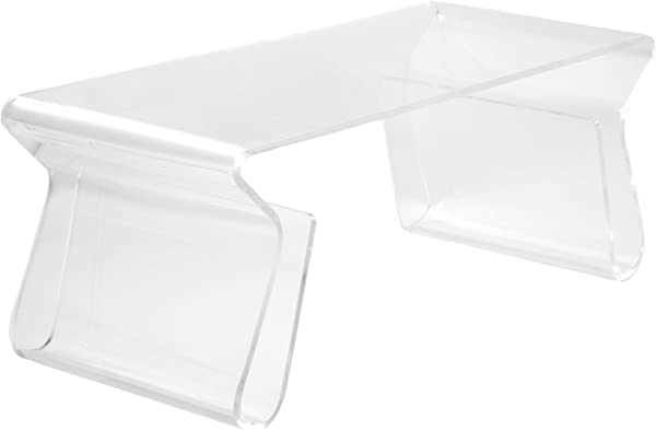 Poly And Bark Mag Coffee Table Clear