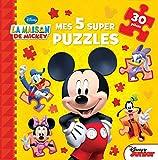 LA MAISON DE MICKEY - Mes 5 super puzzles 30 pièces