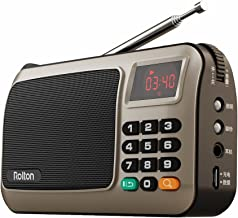 Rolton W405 Portable Mini FM Radio Speaker Music Player TF Card for PC iPod Phone with..