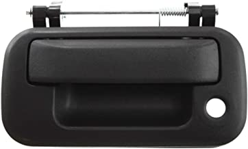 Tailgate Handle compatible with Ford F-150 04-13/Mark LT 06-08/F-Series Super Duty 08-16 Textured-Black