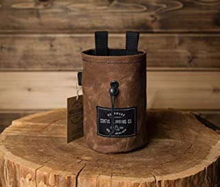 STATIC Waxed Canvas Chalk Bag (Tobacco) Made in the USA
