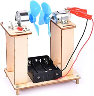 RuleaxAsi DIY Children Science Technology Experiments Classroom Small Inventions Assembled Models Toys Educational Learnin...