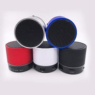 WHSS Haut-Parleur sans Fil Bluetooth Portable for Iphone, Ipod, Ipad, Samsung, Smartphones, tablettes et Carte More_Mini ~...