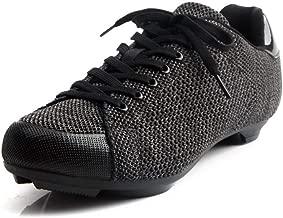 حذاء رياضي Tiebao Fly-Knit طراز احترافي لركوب الدراجات والدراجات النارية مع شبكة فائقة النعومة مسامية SPD SL
