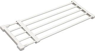 平安伸銅工業 つっぱり棚 強力伸縮タイプ ホワイト 取付寸法63~93cm 耐荷重:30-13kg KB-63