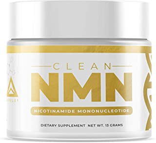Clean NMN Powder: Nicotinamide Mononucleotide Supplement | NAD+ Precursor |�Healthy Aging DNA-Repair | Better Than Riboside (Unflavored - 13 Grams)