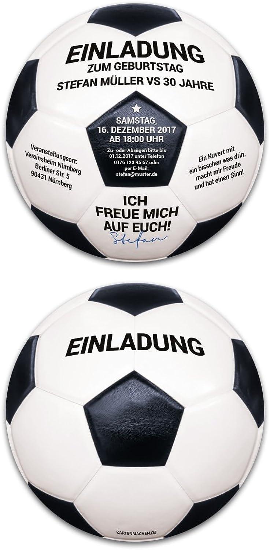 60 60 60 x Runde Einladungskarten Geburtstag individuell - Vintage Retro Schwarz-Weiß Fußball B0756YTKQF    Zarte  3a5fba