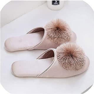 Unknown Zapatillas de casa para Mujer, Lindas, para el hogar, Interiores y Exteriores, para el Verano, para Mujer