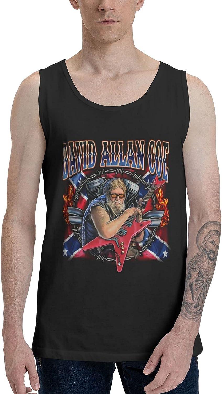 David Allan Coe Tank Top Men's Summer Sleeveless T Shirt Stylish Vest