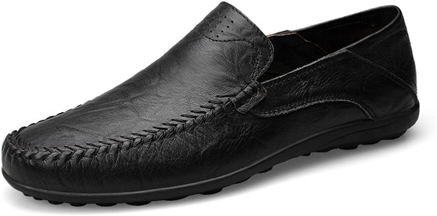 SRY-shoes Men's Comfortable Fashion Design Soft Casual Moccasins Slip On Driving Loafer Slipper