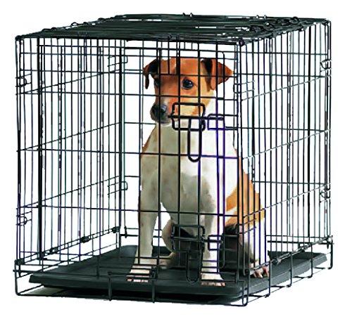 Savic - Cottage - Cage de transport pour chien - Noir poudré - 61 x 44 x 50 cm