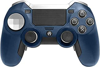 Wireless Elite Controller Compatible with Playstation PS4, Includes Additional Buttons, Connects to PS4 Via USB dongle