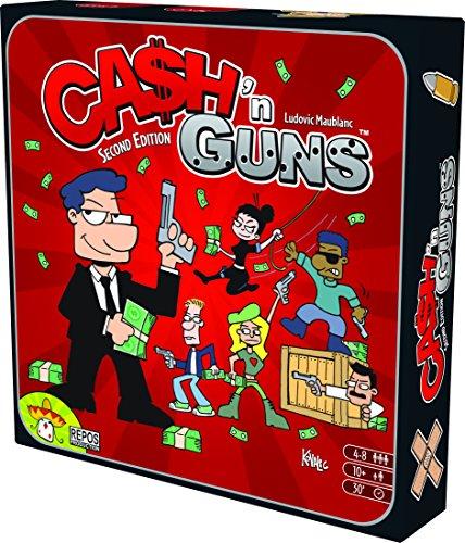Asmodee 692255 692255-Brettspiel-Cash'n Guns