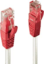 Lindy Crossover Cat.6 U/UTP 0.3m - Cable de Red (0,3 m, Cat6, U/UTP (UTP), RJ-45, RJ-45, Gris)