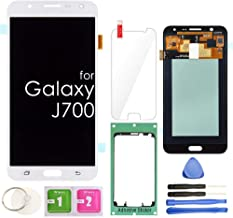LCD Screen Replacement Touch Digitizer Display Assembly for Samsung Galaxy J7 2015 J700 J700T J700F J700F/DS J700H J700M SM-J700(White)