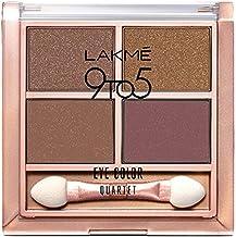 Lakme 9 to 5 Eye Color Quartet Eye Shadow, Mystic Nudes, 7 g