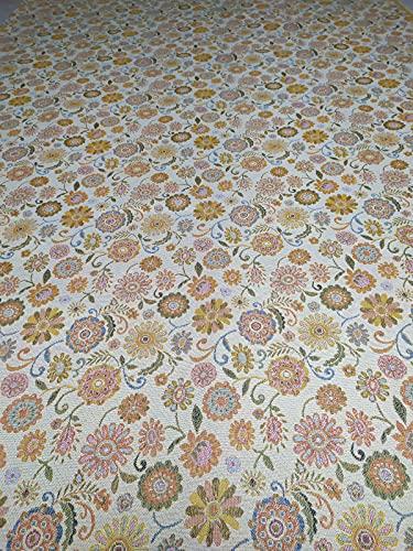 Tela de Gobelin para sofá, manteles, cojines, fundas, granfoulard, por metros, altura 280 cm (46)