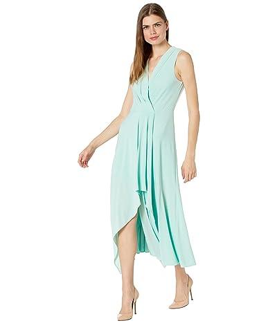BCBGMAXAZRIA Matte Jersey Asymmetrical Hem Cocktail Dress