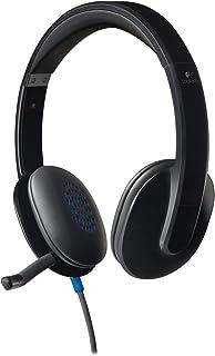 Logitech H540 981-000510 USB Headset (Renewed)