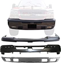 Sponsored Ad - New Front Bumper Primed Steel + Upper Cover & Lower Valance Textured For 2003-2006 Chevrolet Silverado 1500...