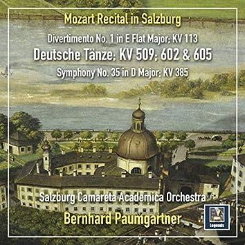 A Mozart Recital in Salzburg