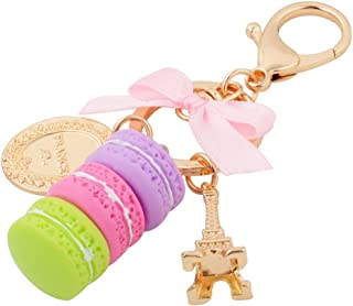 Giftale Sparkly Handbag Accessories Key Chain for Women Bag Purse Charms,